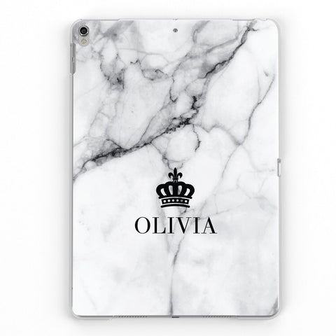 iPad Personalised Crown Case