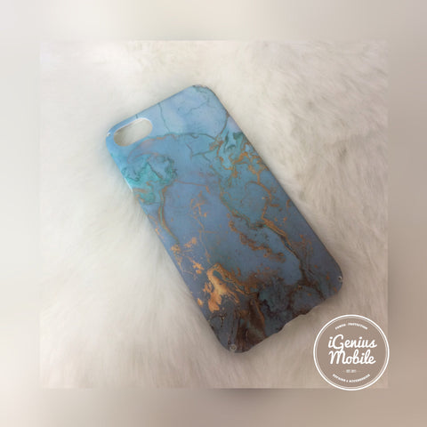 Marble Case Blue Chrome