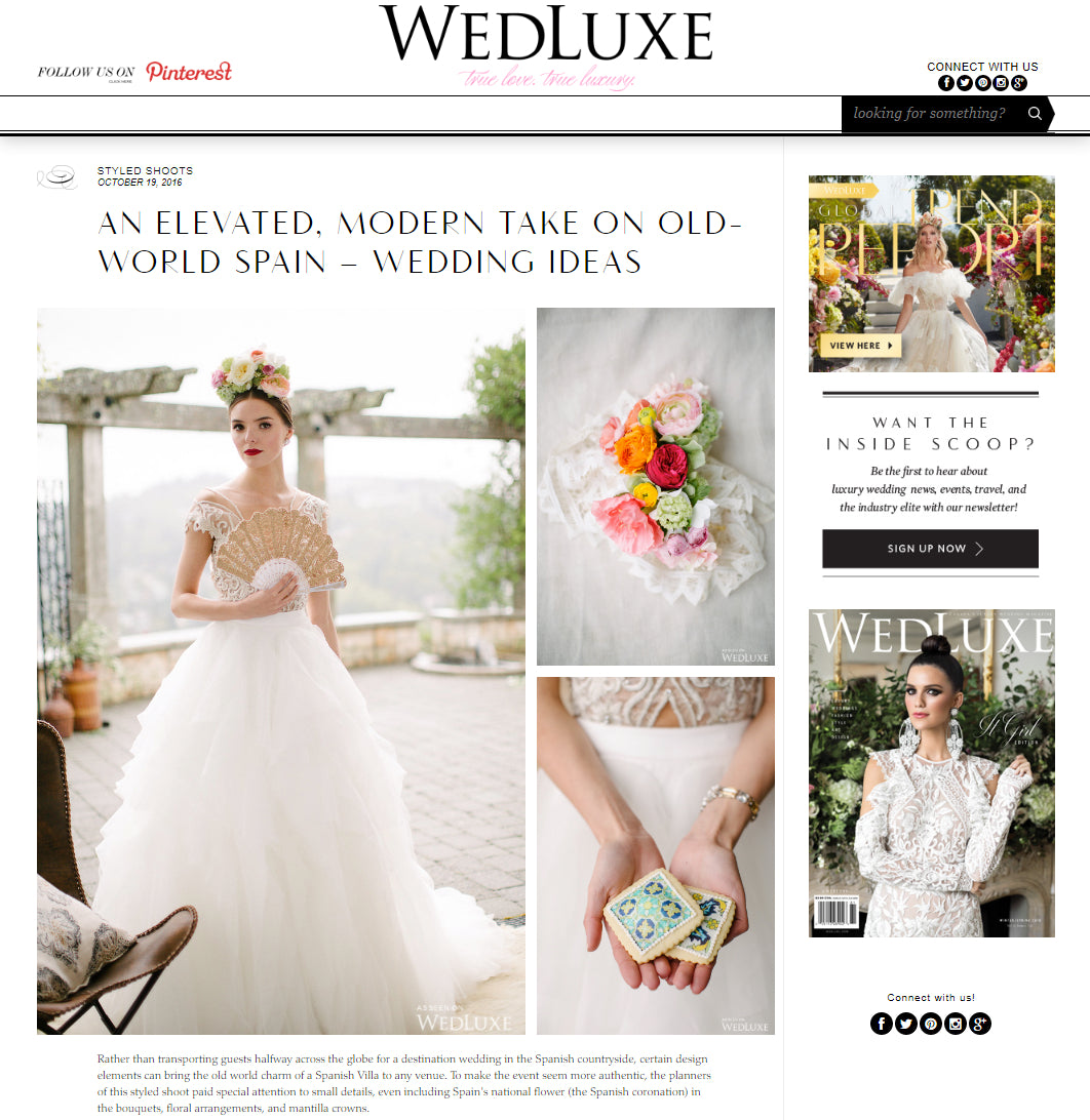 Modern Crochet Club Barefoot Sandals & Lace at the WedLuxe magazine
