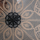 Close up for victorian lace umbrella