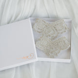 Crystal Bridal Jewelry Foot Cuffs Gift Box
