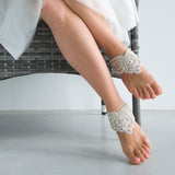 Crystal Bridal Jewelry Foot Cuffs