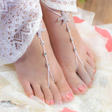 Crystal Starfish destination wedding foot jewelry