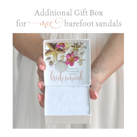Additional gift box for MCC barefoot sandals