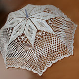 Star lace umbrella side look