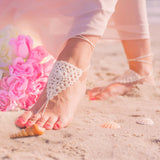 boho wedding shoes for a beach wedding