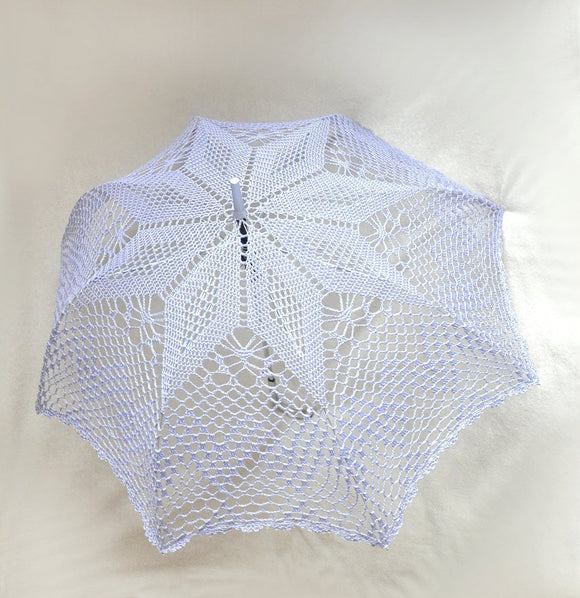 Lavender lace summer wedding accessory parasol