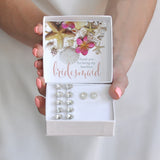 Barefoot bridesmaid gift box