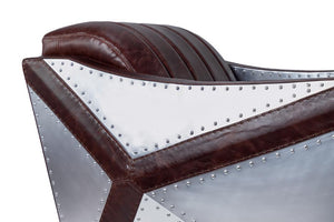 Aviator Leisure Chair Chair Rustic Deco