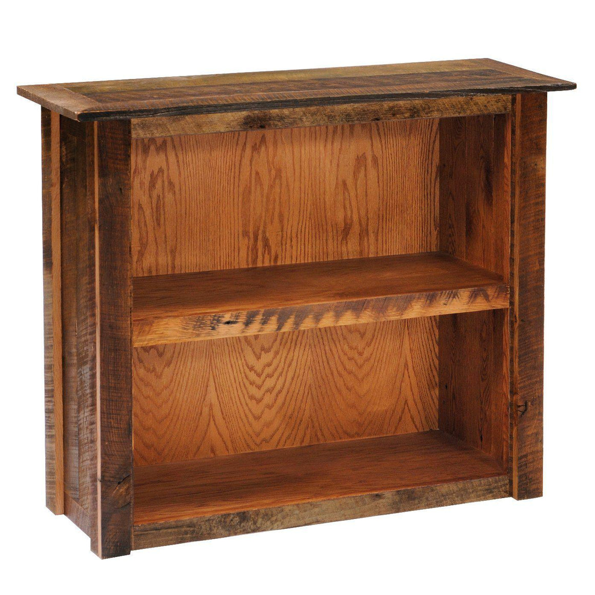 Barnwood Bookshelf - Small, Medium, Large - Rustic Deco Incorporated