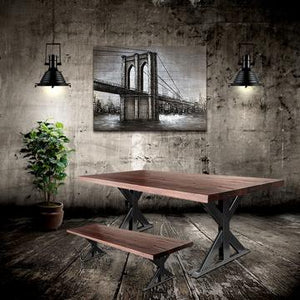 "Black Nautical Modern Industrial Pendant Light - 17"" Diameter - Rustic Deco Incorporated"