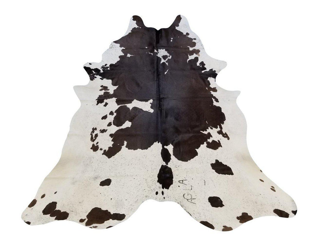 Brown & Black Genuine Brazilian Cowhide Rug  6x8' - Rustic Deco Incorporated