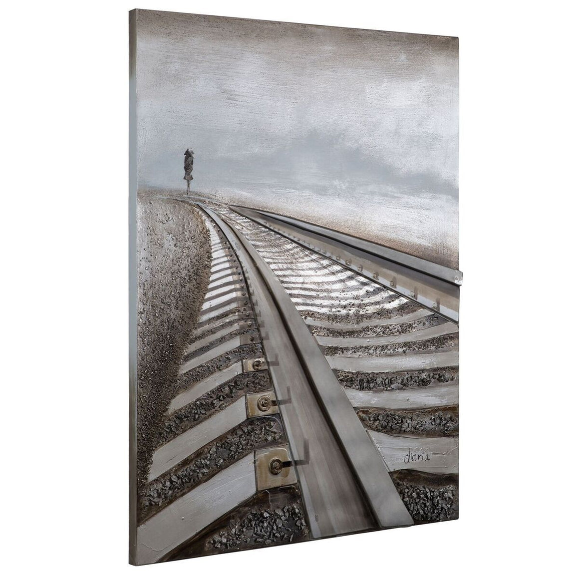 "Destination Anywhere 3D Railroad Wall Art 48"" Tall-Rustic Deco Incorporated"