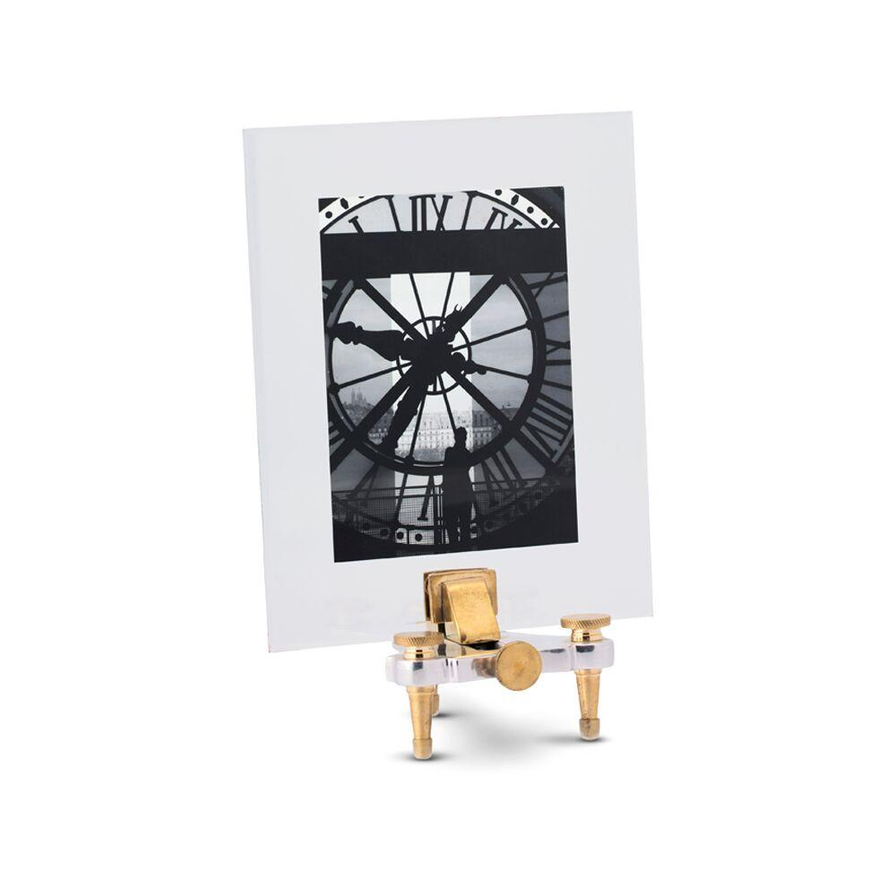 Geneva Photo Photograph Frame Large Stand - Watchmaker Tool Brass-Rustic Deco Incorporated