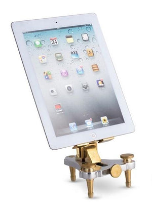 Watchmakers Phone Tablet Stand - Watch Repair Tool - Brass - Rustic Deco Incorporated