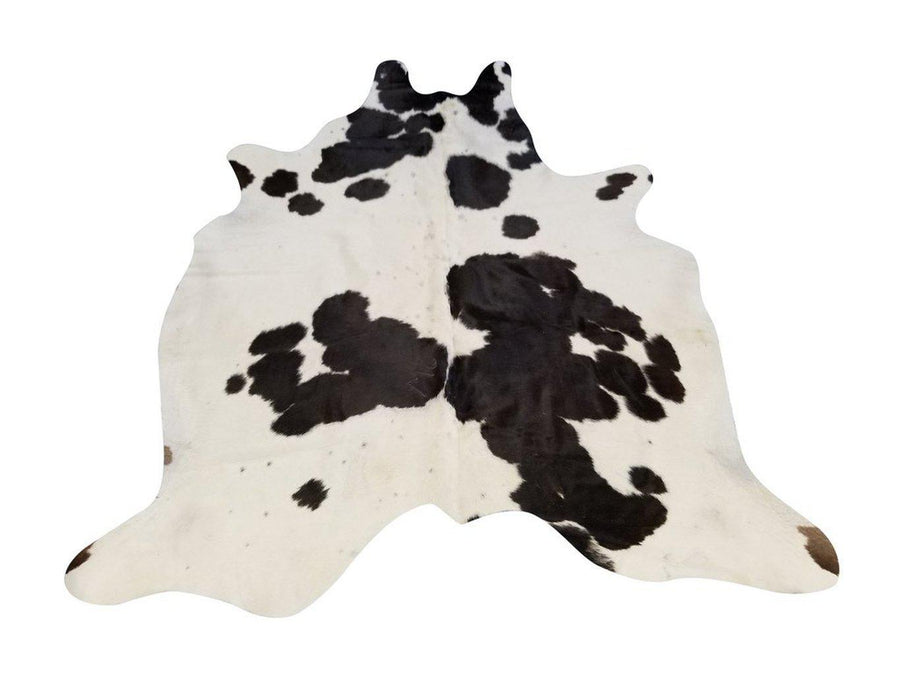 Genuine Black and White 6x8' Brazilian Quality Cowhide Rug - Rustic Deco Incorporated
