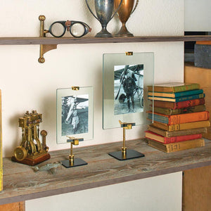 Gunsmith Photo Frame Large Photograph Stand Antique Repair Tool - Rustic Deco Incorporated