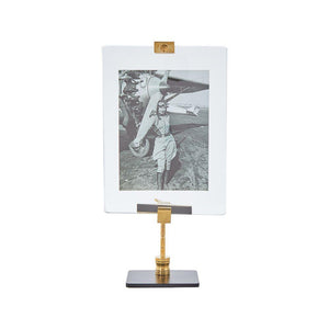 Gunsmith Photo Frame Small - Photograph Stand Antique Repair Tool - Rustic Deco Incorporated