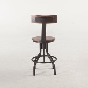 Industrial Modern Adjusting Dining Or Pub Chair - Bar Stool- Set of 2 Stool HT&D