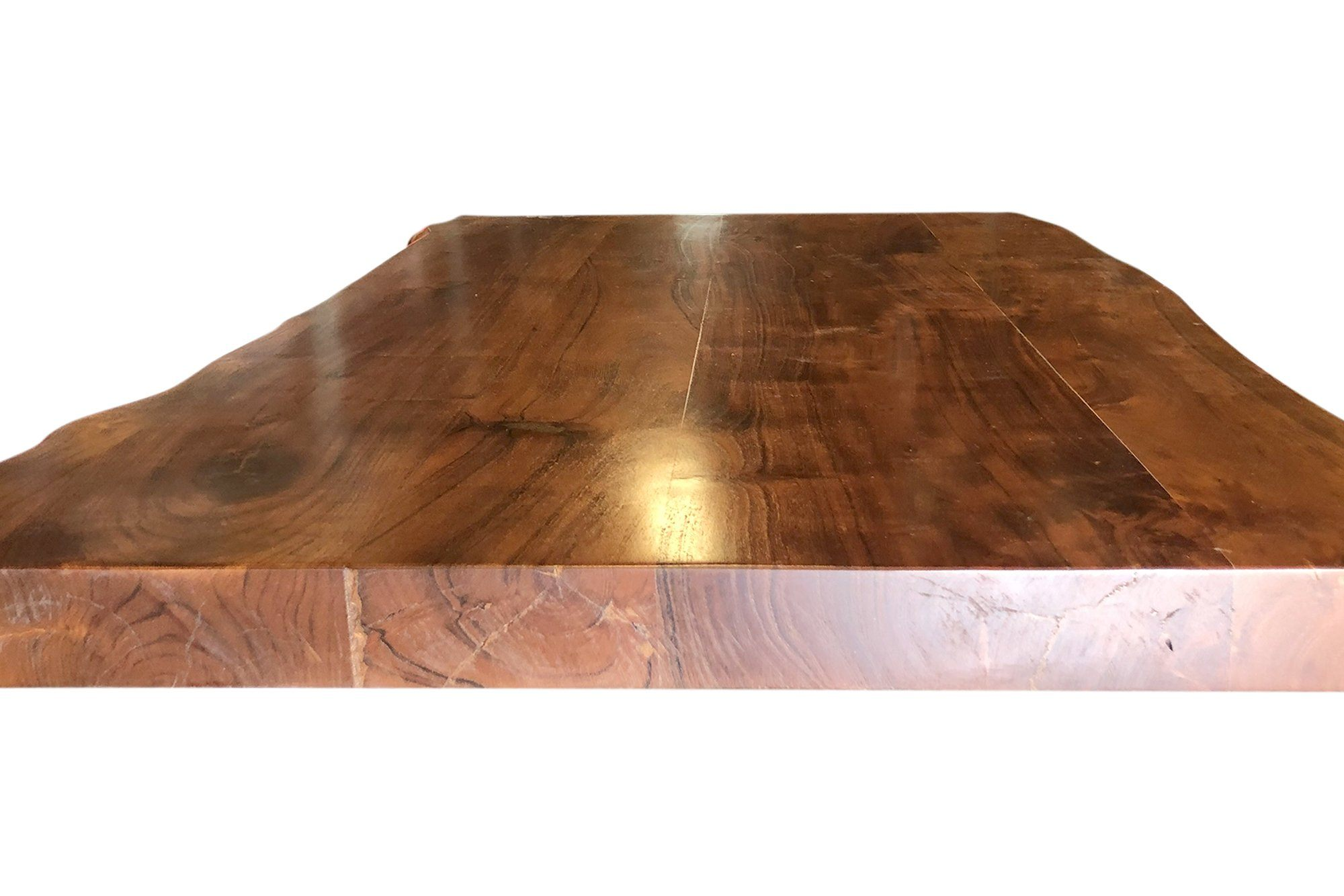 Solid Wood Live Edge Coffee Table Top Desk Pub Dining Tabletop 4