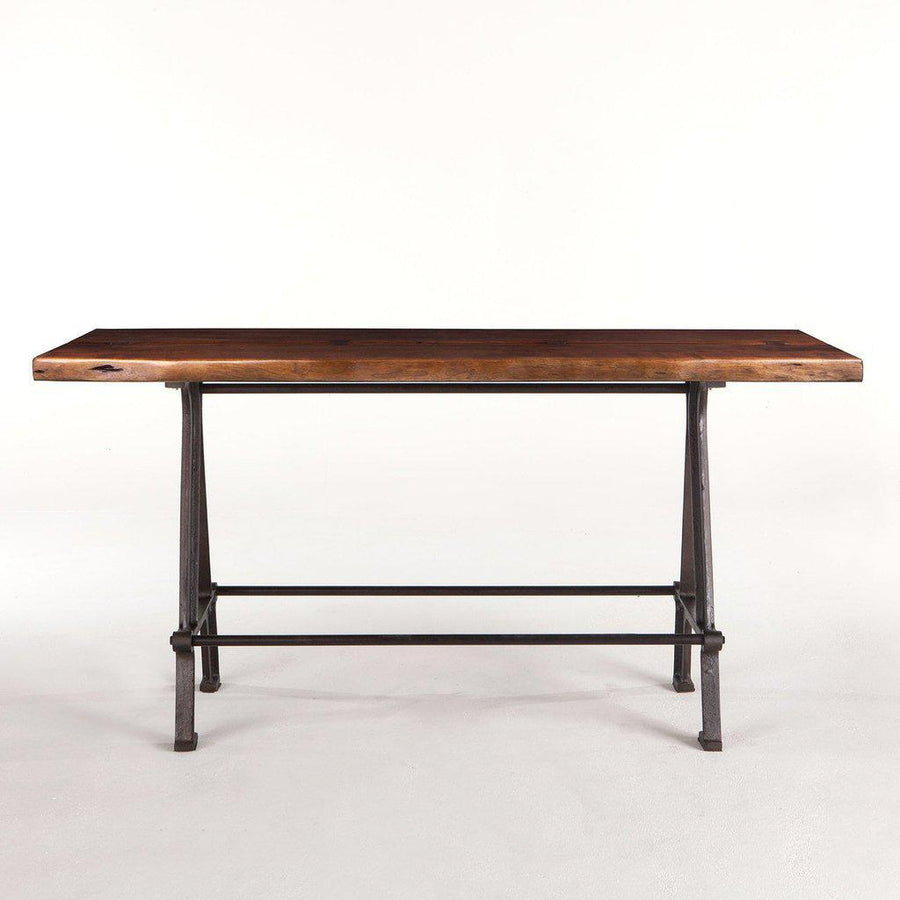 "Modern Industrial Gathering Bar Table 72"" - Pub Table Pub Table HT&D"
