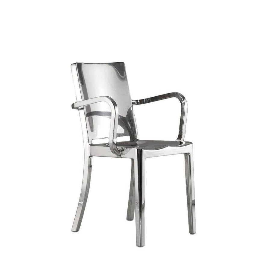 Modern Stainless Steel Metal Dining Chair - Armchair - Set of 2 Chair Rustic Deco