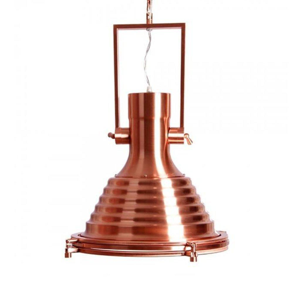 Nautical Copper Pendant Light Lighting Lighting Rustic Deco