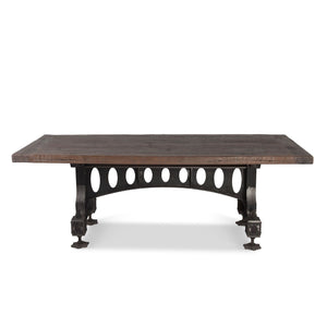 "Old Mill Steampunk Industrial 86"" Dining Table-Rustic Deco Incorporated"