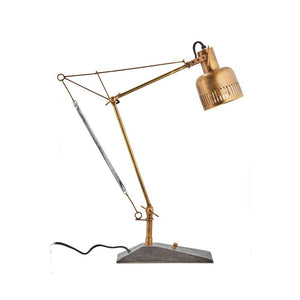 "Prague Table Lamp - Solid Brass Desk Lamp - 28"" High Lighting Pendulux"