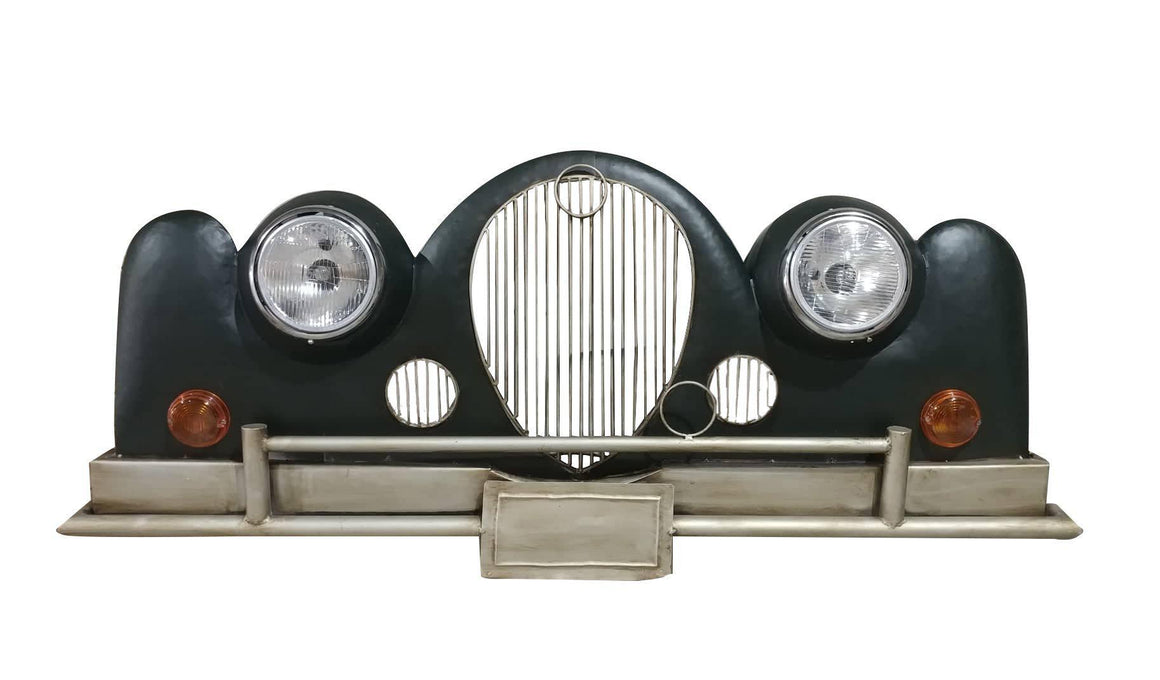 "Rolls Royce 3D Metal Wall Art Wall Light - 65"" x 27"" - Auto Enthusiast - Rustic Deco Incorporated"
