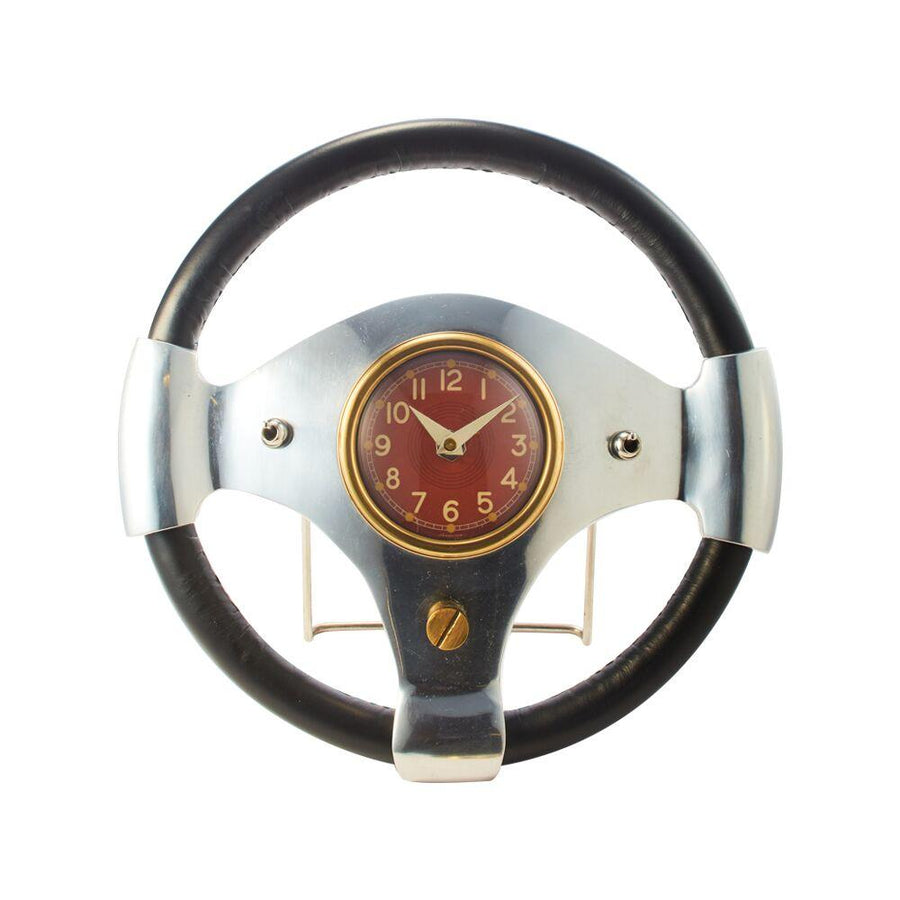 Speedster Table Clock - Machine Age - Vintage Industrial - 1960s British Sports Car Clock Pendulux