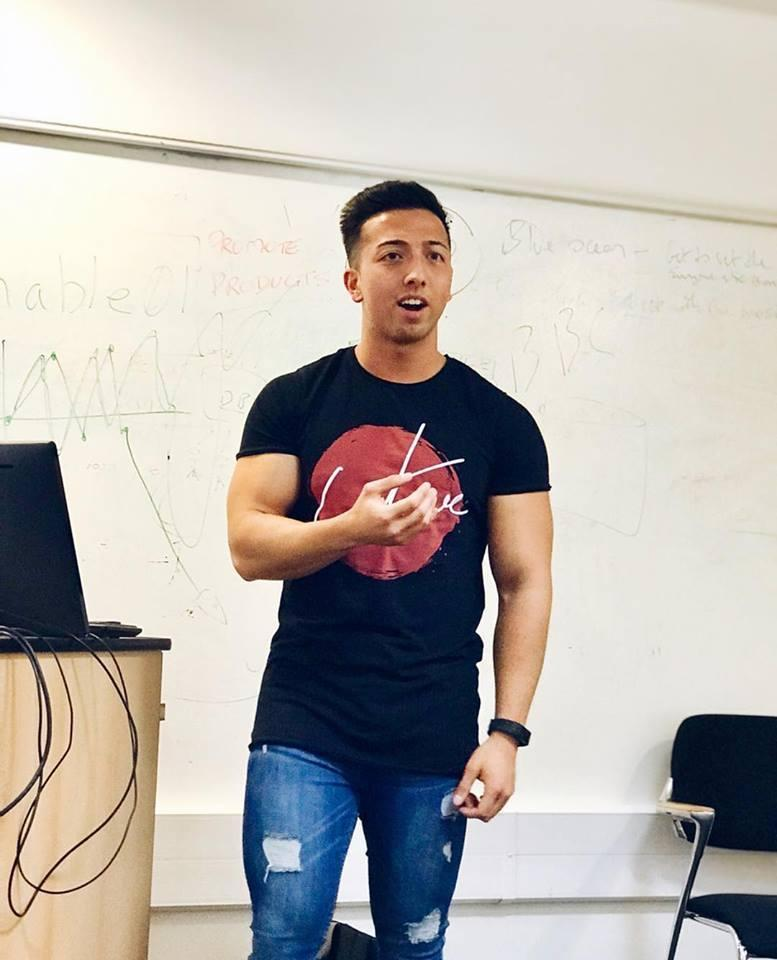Talk At Pearson Business School on Student Life & Fitness