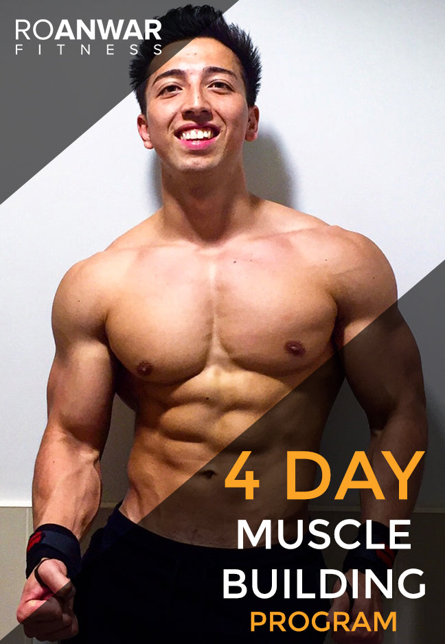 NEW - 4 Day 'Muscle Building' Program