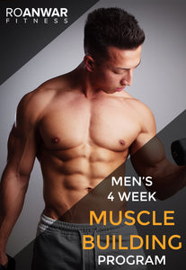 Men's 4 Week 'Muscle Building' Program