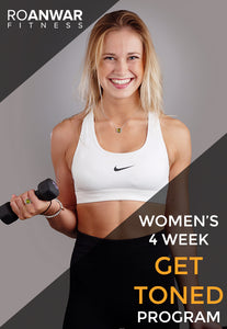 Women's 4 Week 'Get Toned' Program