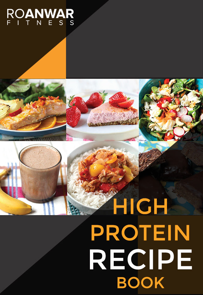 BRAND NEW! High Protein Recipe Book