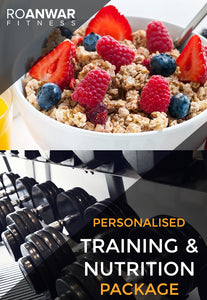 Personalised Training & Nutrition Package