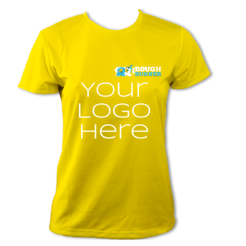 Technical T-shirt, your branding, female short sleeve