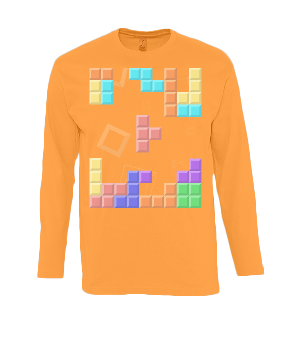 Tetris - long sleeve T-Shirt