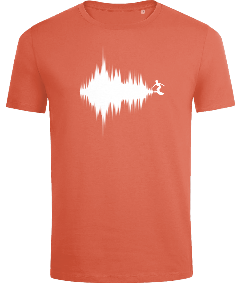 Surfing sound waves T-shirt