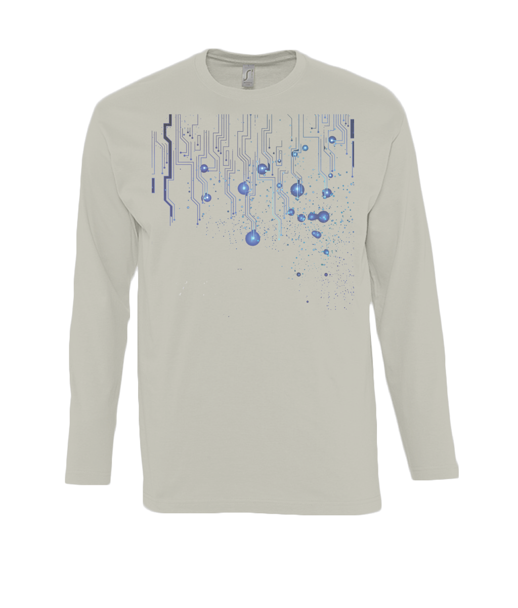 Abstract lines - long sleeve T-Shirt