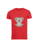 Men's Premium Soft to touch T-shirt, Cute Koala doing Yoga