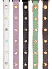 Land of Meow_Assorted Linny Crystal Cat Collars