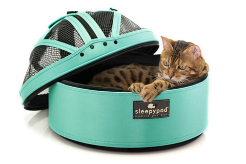 Land of Meow Sleepypod mobile cat bed