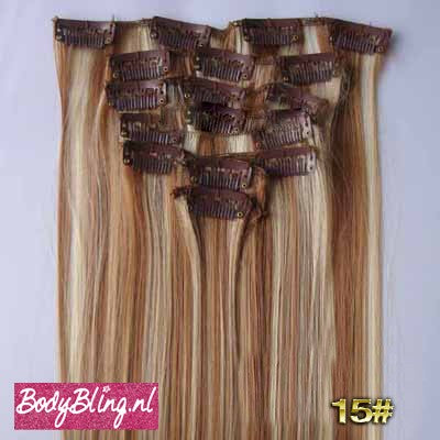 15 BRAZILLIAN STRAIGHT HAIR EXTENSIONS P18/613