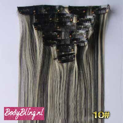 10 BRAZILLIAN STRAIGHT HAIR EXTENSIONS P1B/613