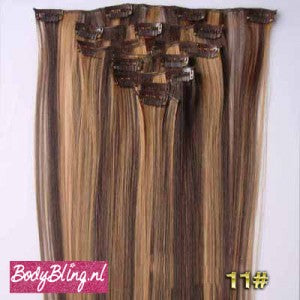 11 BRAZILLIAN STRAIGHT HAIR EXTENSIONS P4/27