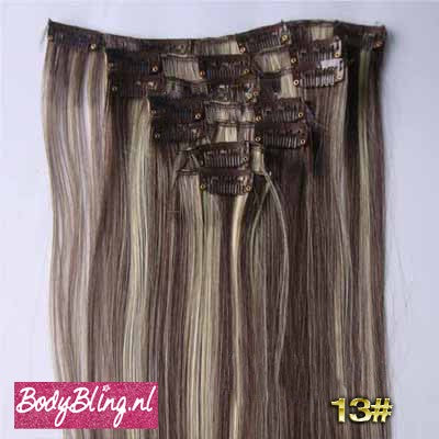 13 BRAZILLIAN STRAIGHT HAIR EXTENSIONS P4/613