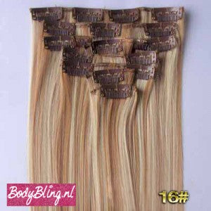 16 BRAZILLIAN STRAIGHT HAIR EXTENSIONS P27/613
