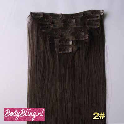 02 BRAZILLIAN STRAIGHT HAIR EXTENSIONS 2#